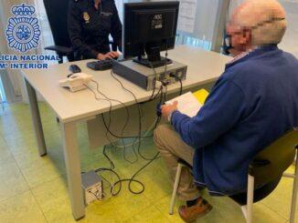Anciano detenido