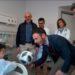 La Federación Riojana de Fútbol reparte regalos a los niños ingresados en el Hospital San Pedro