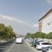 Un incendio en Logroño deja cinco vehículos quemados